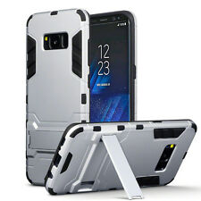 Samsung Galaxy S8 PLUS  Rugged Military Grade Armour Multi Layer Case Silver