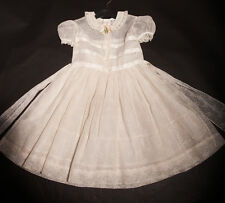 50s Adorable Original 'Wee Tog' Girls Tiny Floral Party Dress with Petticoat