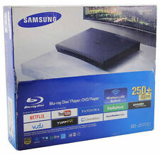 Samsung BD-J5700 Blu-Ray + DVD Disc Player with Built-In Wi-Fi In Retail Bo