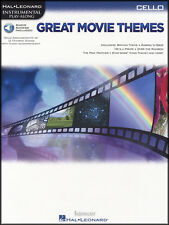 Great Movie Themes Para Cello Instrumental Play-along Partituras book/dlc