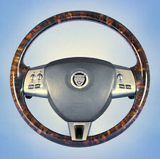 JAGUAR  XF /  XK8  /  XKR   WALNUT  STEERING  WHEEL