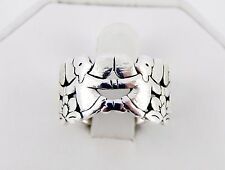 Retired James Avery Guardian Angels Ring Size 7 1/2 7.3 Grams