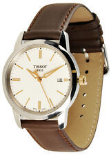 Tissot T0334102601101 Classic Dream Men's Brown Leather Watch - New inBox
