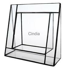 Plant Container Glass Succulent Planter Box Terrarium Display Plant Holder