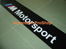 "53"" M Motorsport Windshield Sunstrip Sunvisor Banner Decal Sticker BMW power gt3"