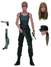 "TERMINATOR 2 SARAH CONNOR ACTION FIGURE 7"" TALL FROM NECA  #smay16-107"