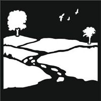 """THAT SPECIAL TOUCH OF Mica Masks COUNTRY VIEW Emboss 6"""" x 6"""""""