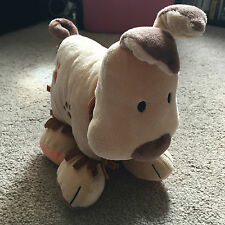 JELLY KITTEN SHAGGY DOG BABY CRINKLE RATTLE BOOK SOFT TOY PLUSH CUTE