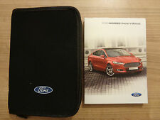 Ford Mondeo Owners Handbook/Manual and Wallet 14-16