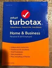 Intuit Turbotax Home and Business for tax year 2016 (cd)
