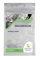 MAGNESIUM Mineral Oxide 375 Mg 30/60/90/120/180 Tablets Pills FAST Cheap