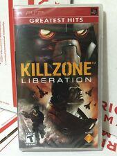Killzone: Liberation Sony PSP New Fast Free Shipping