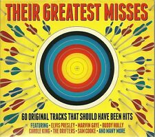 THEIR GREATEST MISSES - 3 CD BOX SET - SAM COOKE, MARVIN GAYE & MORE