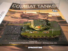 Deagostini Combat Tanks Issue 22 - Leopard 1A2 4th Reg Carri Brigata Italy 1998