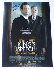 The King's Speech SIGNED Photo - Andrew Havill FILM Photo - Autographed