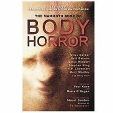 THE MAMMOTH BOOK OF BODY HORROR   25 short stories