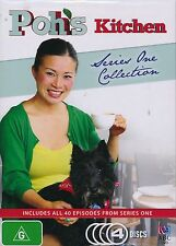 Poh's Kitchen Series One 1 Collection 4-discs NEW Region 4