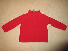 FLEECE Pull Over - Long Sleeve - Old Navy - Red - Sz 2T