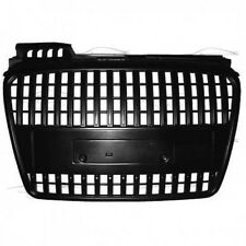 FRONT BLACK GRILL FOR AUDI A4 B7 8E 04-07 SPORT SPOILER BODY KIT NEW GRIGLIA