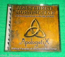Made In U.S.A.:APOLOGETI  X - JESUS CHRIST MORNING STAR CD,RARE,ORIGINAL SLEEVE