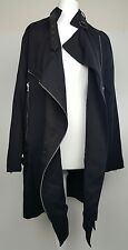 Bnwt Allsaints Wren biker coat.uk 6 (fits 8) £278.black.**OFFER PRICE**