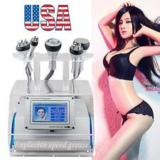 USA 5 in 1 Cavitation Vacuum Bipolar RF Laser Slimming Machine Dissolve Fat Burn