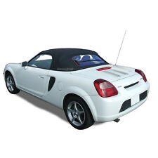 TOYOTA MR2 Spyder Spider Convertible Soft Top & Glass Window Black Twill