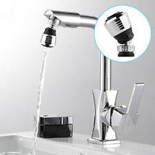 360 Rotate Swivel Faucet Nozzle Water Filter Adapter Purifier Saving Tap Aerator