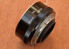 Vintage Nikon M2 Extension Tube for 1:1 Macro repro on Nikkor 55mm Micro Lens