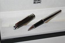 Montblanc Meisterstück Solitaire Hämatit & Stainless Steel N° 163 Roller Ball