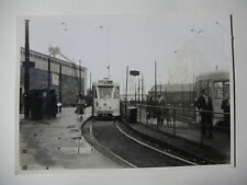 B270 - 1950s TRAMWAYS BRUXELLOIS - TRAM No7052 Route 81 PHOTO Belgium