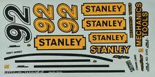 Nascar Decals - Naßschieber 1992 * STANLEY * #92 Hut Stricklin - 1:24