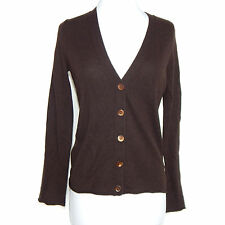 BANANA REPUBLIC Brown Italian Cashmere Cardigan Sweater Size Small