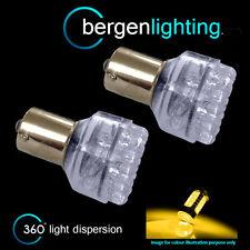 382 1156 BA15s 245 XENO AMBRA 24 DOME FRECCIA LED ANTERIORE LAMPADINE FI200501