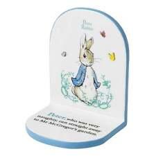 Beatrix Potter Peter Border Fine Arts Rabbit Bookend New Boxed A24351