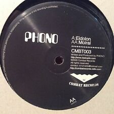 """Phono – Eidolon / Moirai : Combat VG++ VINYL 12"""" D&B"""