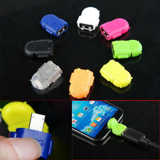 Robot Micro USB Host OTG Adapter Cable CGYG Samsung Galaxy S3 S4 S5