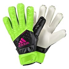 Adidas Youth Ace Fingersave Goalkeeper Soccer Futbol Gloves  Size 4  Boys Girls