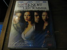 I Still Know What You Did Last Summer DVD Jennifer Love Hewitt Brandy NEW SEALED
