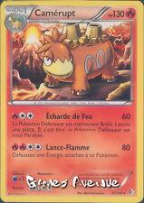 Carte Pokemon - Camérupt   22/149  Rare en Français