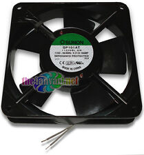 New! 110 115 Volt AC Fan 120mm x 25mm Metal Frame Sunon SP101AT 1122HBL.GN