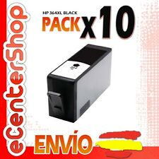 10 Cartuchos de Tinta Negra NON-OEM HP 364XL - Photosmart Wireless B110 e