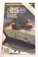 Pillsbury Sweet Success Cookbook (1980 paperback) over 40 recipes Cakes Candies