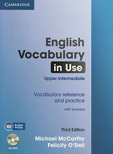 ENGLISH VOCABULARY IN USE Upper-Intermediate Third Ed w Answers & CD-ROM @New@