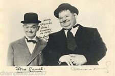 Oliver Hardy-Stan Laurel ++Autogramm++ ++Dick + Doof++4