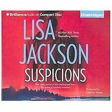Suspicions by Lisa Jackson (2013, CD, Unabridged)