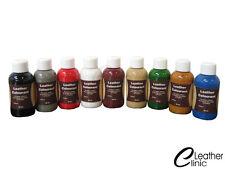 Lederfarbe 74 Farben 50 ml + 25 ml Lederlack