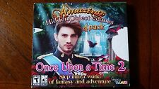 ONCE UPON A TIME 2 - 4 Pack Amazing Hidden Object PC Games Windows xp vista 7