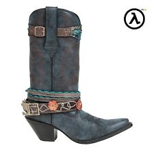 CRUSH BY DURANGO WOMEN'S ACCESSORIZE WESTERN BOOTS DCRD146 * ALL SIZES M6-11