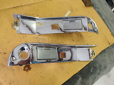 Pair of Rear Door Switch  Escutcheons 1967 Oldsmobile 98 LS 67 Olds ninety Eight